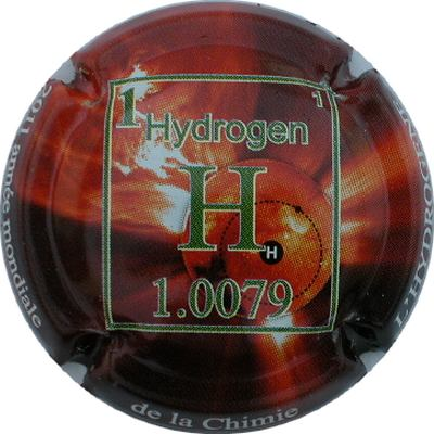 Hydrogène, une brique élémentaire de l'eau