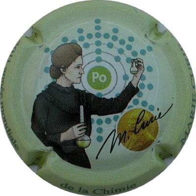 Marie Curie 2 prix Nobel dont un en Chimie, Le Polonium